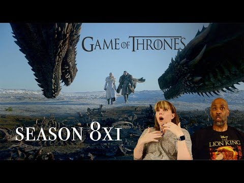 REACTION: Game of Throne 8x1 - Winterfell