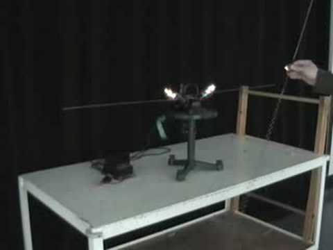 MIT Physics Demo -- Dipole Antenna