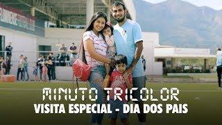 FluTV - No dia dos pais, jogadores recebem visita especial no CT