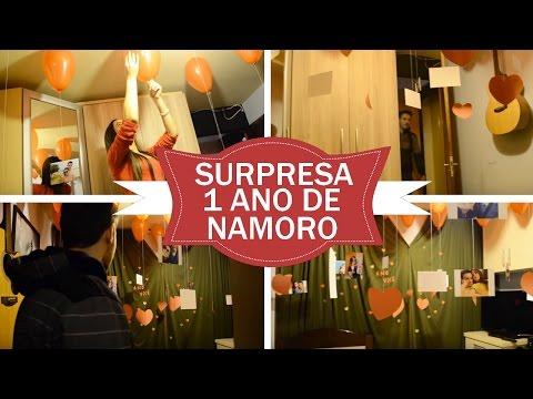 SURPRESA 1 ANO DE NAMORO | SURPRESA PARA NAMORADO