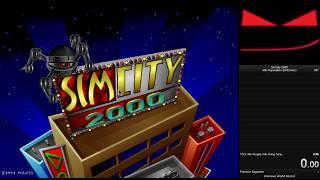 SimCity 2000 (DOS) - 30k population Speedrun in 2:08.65