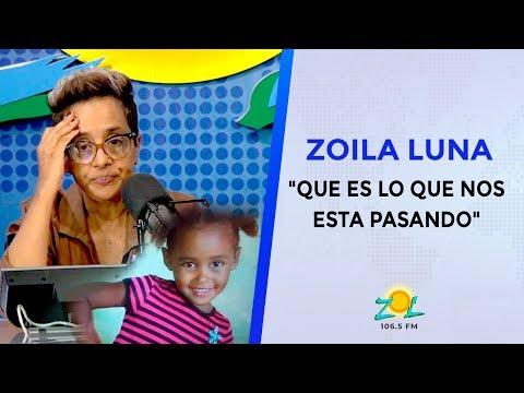 """Zoila Luna Sobre Niña De 4 Años Hallada Muerta: """"Que Es Lo Que Nos Esta Pasando"""""""