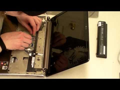 HP DV4 Take Apart / Disassembly to Clean CPU Fan