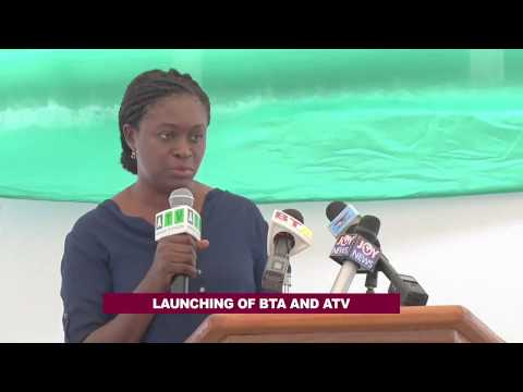 Launch of New studios for BTA and ATV in Accra