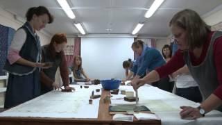 Индиго. Как мы ткань набивали(Видеофильм создан в рамках проекта