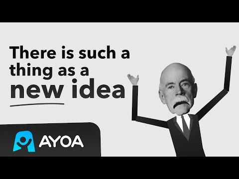 There is such a thing as a new idea. | Ayoa.com
