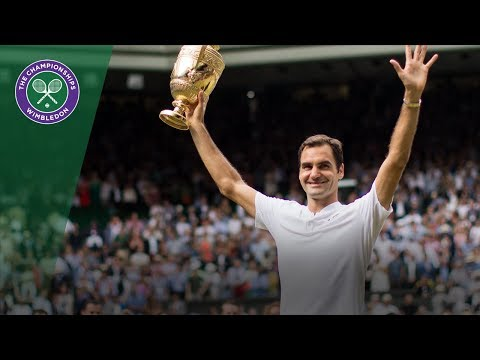 Roger Federer wins Wimbledon - 360° Highlights