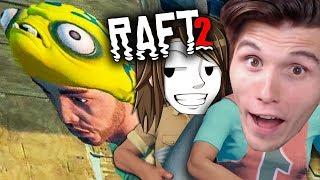 Ich SCHENKE ihm die BESTE MÜTZE im Spiel ☆ Raft #28