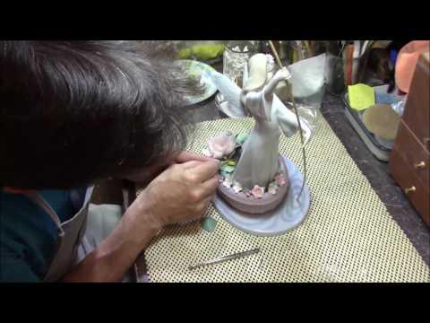 Lladro Fairy Boat Repair