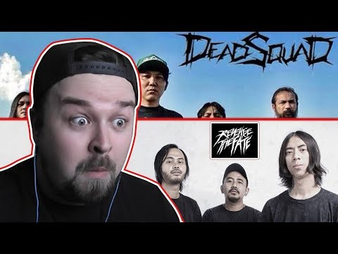 Revenge The Fate + Deadsquad  INDONESIAN METAL (Death Metal/Deathcore) REACTION #2