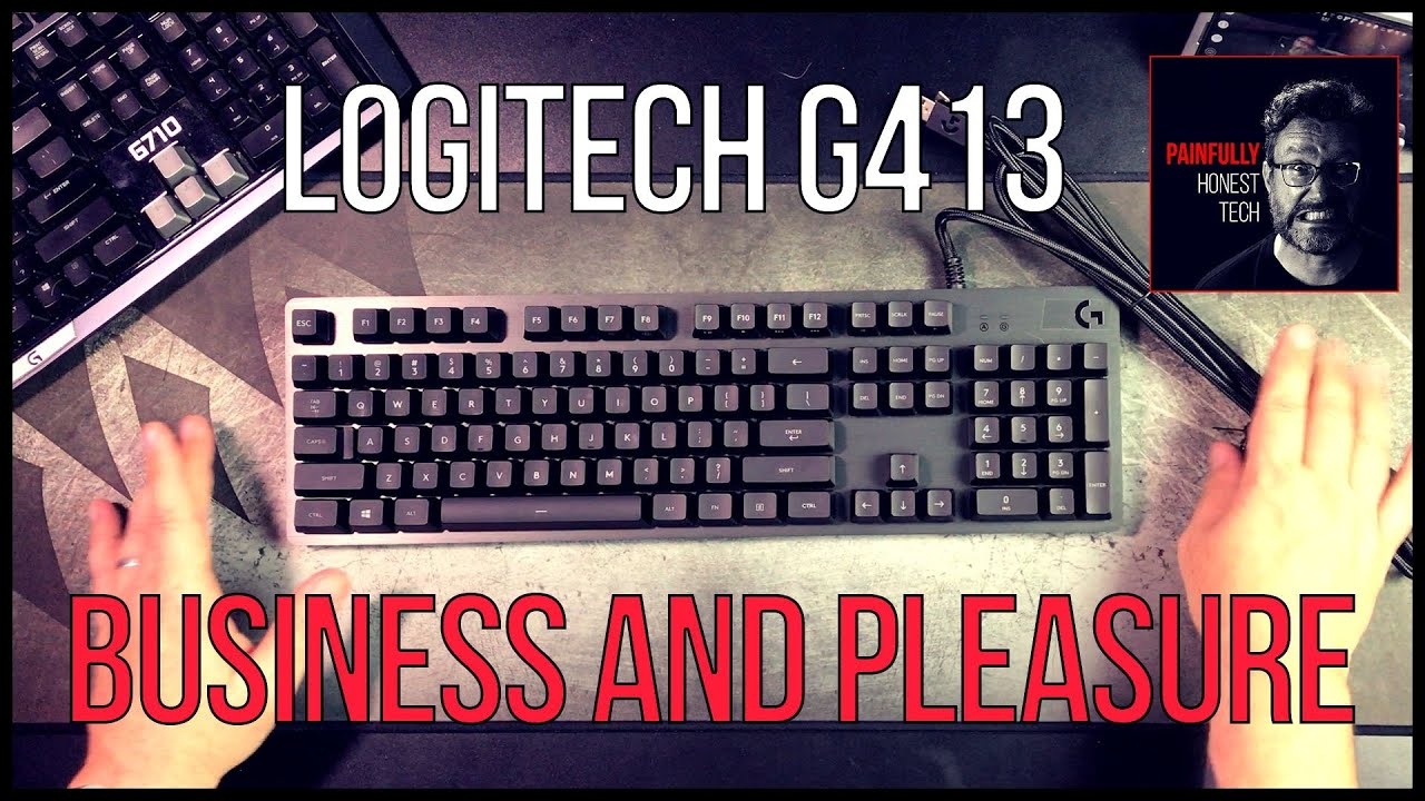 Logitech G413 Carbon Mechanical Keyboard Review And Unboxing Youtube Backlit Gaming