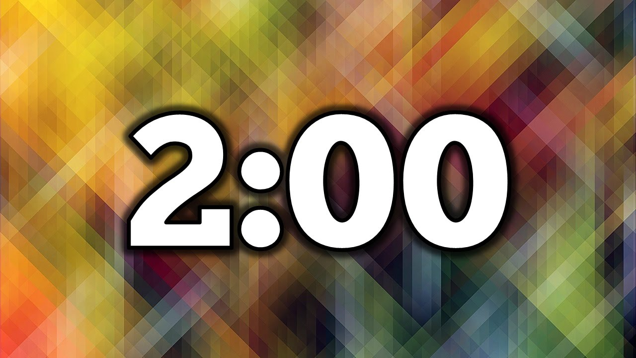 2 minute timer youtube