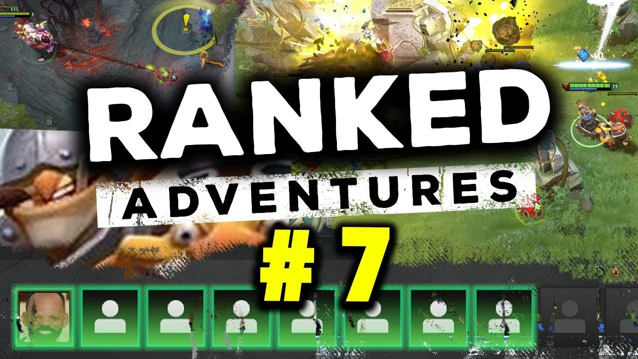 RANKED ADVENTURES #7 - TECHIES! (DOTA 2)