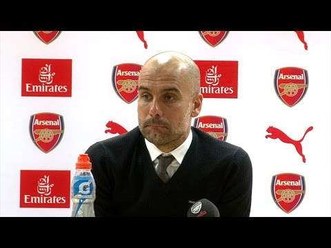 Arsenal 2-2 Manchester City - Pep Guardiola Full Post Match Press Conference