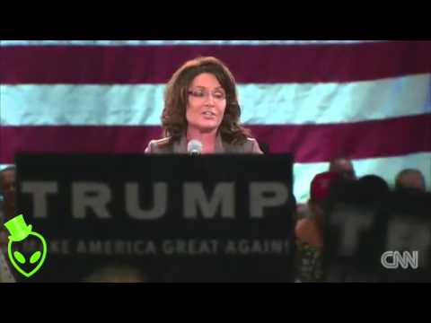 "SARAH PALIN ""Punk Ass Little Thuggery"" Protesters Donald Trump Rally"