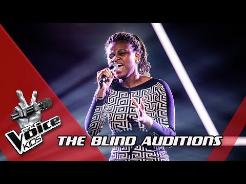 Grace - 'Stand By Me'   Blind Auditions   The Voice Kids   VTM