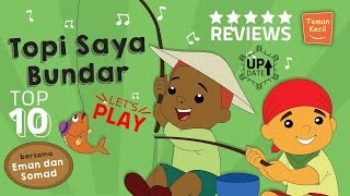 Music | Lagu anak Indonesia | Nursery Rhymes | Topi saya bundar