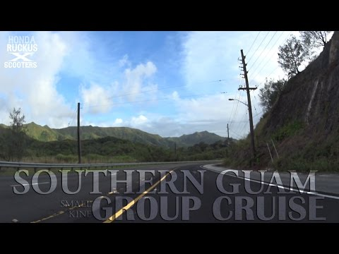 Southern Guam - Ruckus & Scooters Group (Afternoon Night Cruise)