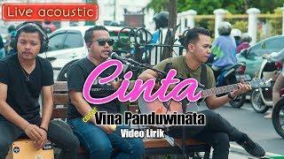 Cinta Vina Panduwinata Live Acoustic Maliboro Jogja