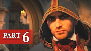assassin s creed unity walkthrough part 6 using ol noggins ps4 gameplay commentary