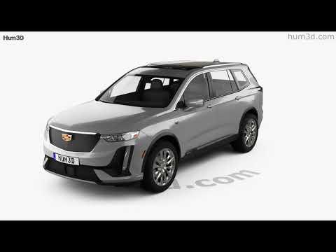 Cadillac XT6 Sport 2020 3D model by Hum3D.com
