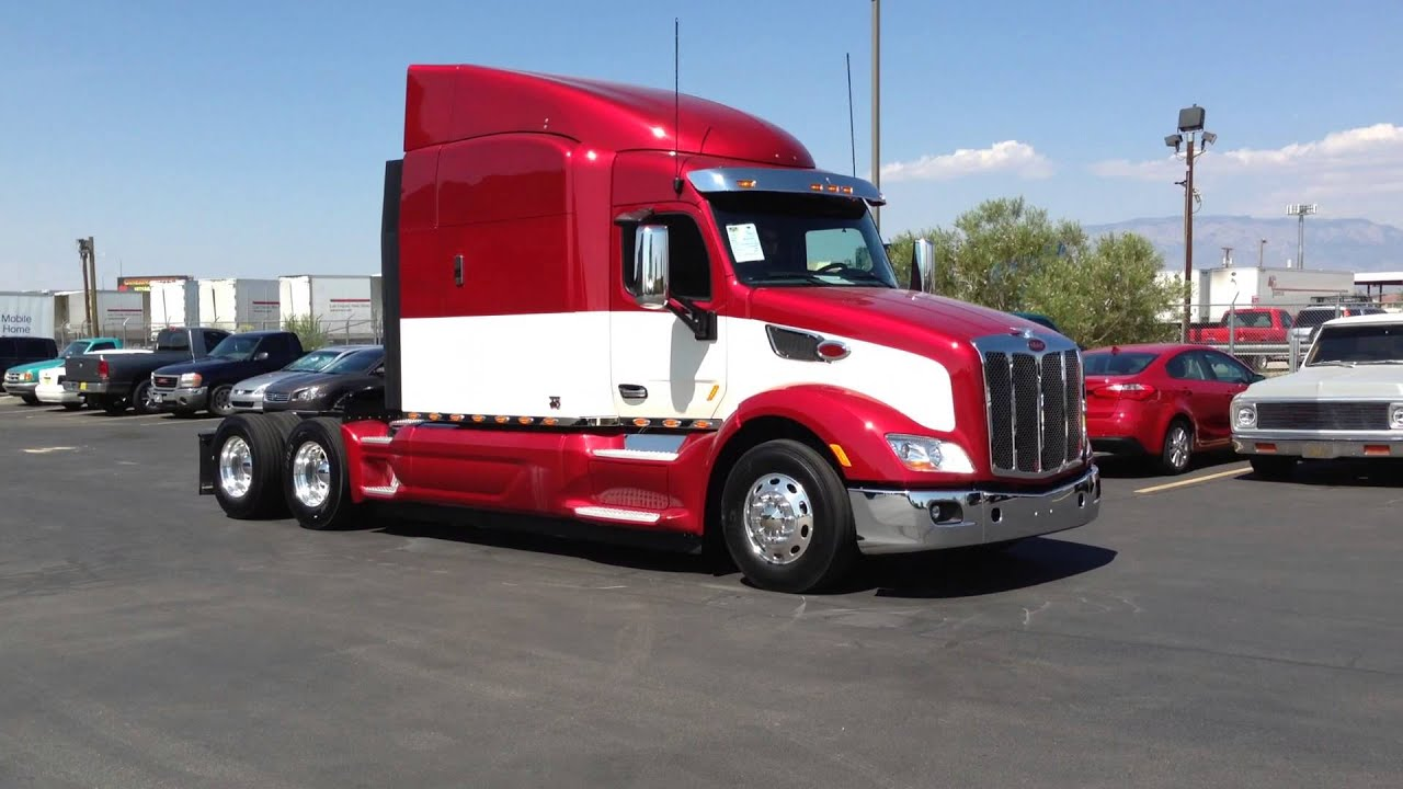 2015 Peterbilt 579 75th Anniversary Edition Number 85