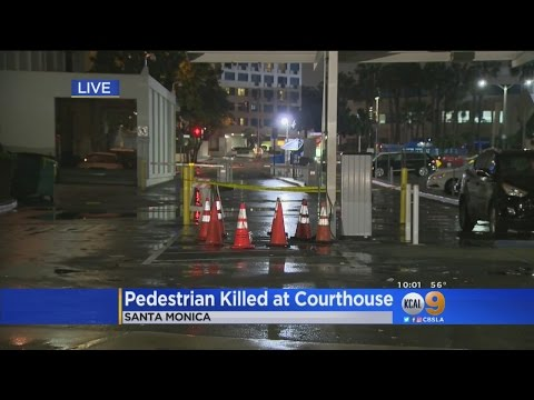 Man Hit, Killed While Paying For Parking Outside Santa Monica Courthouse