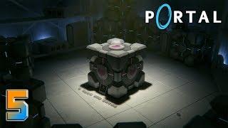 Portal прохождение на геймпаде [60 fps] часть 5 Финал: Кто кого убьет первым
