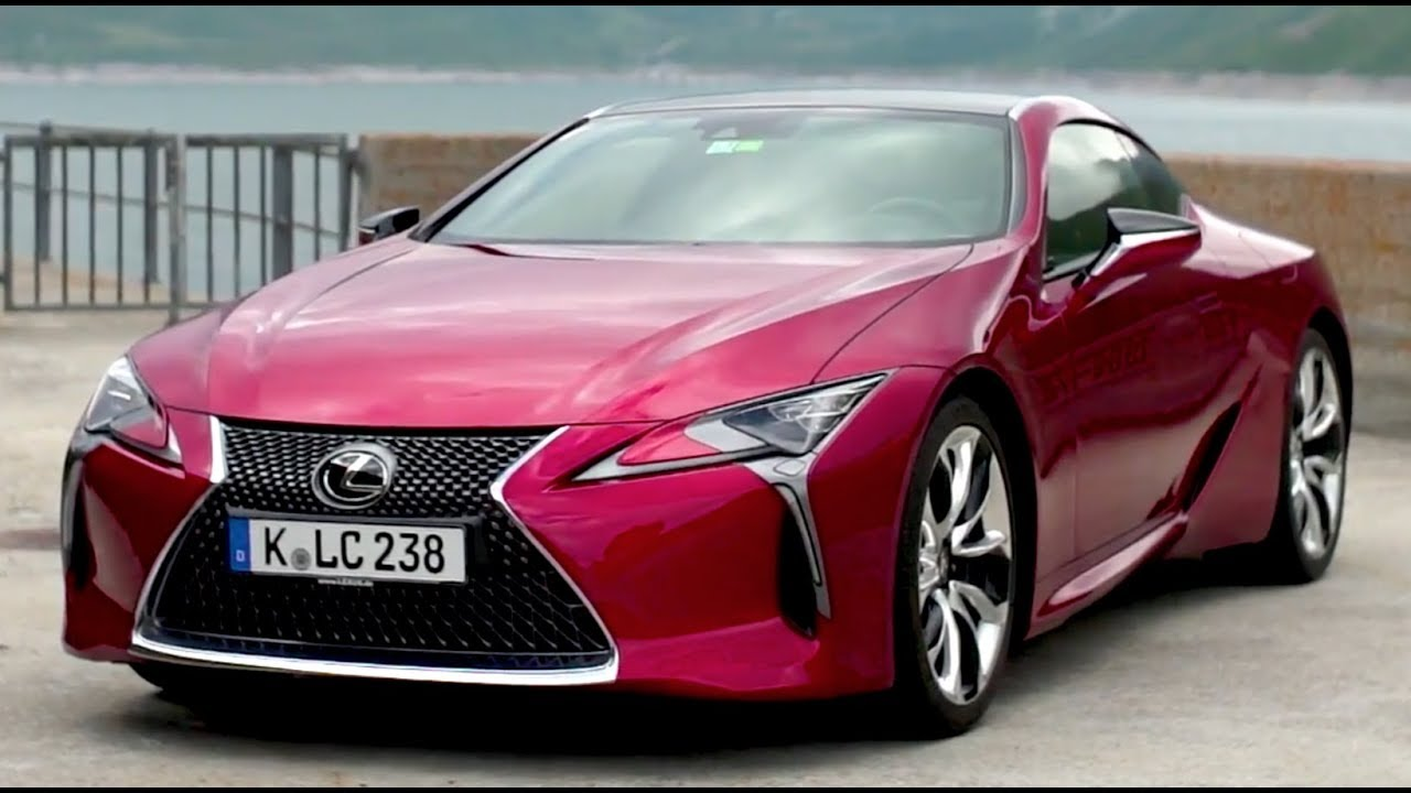The New Lexus Lc 500 Exterior Design Youtube