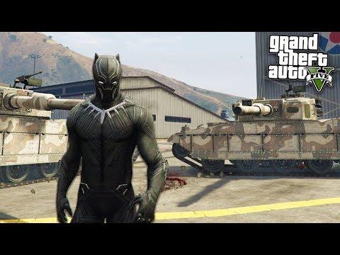 BLACK PANTHER ULTIMATE MOD - GTA 5 Mods