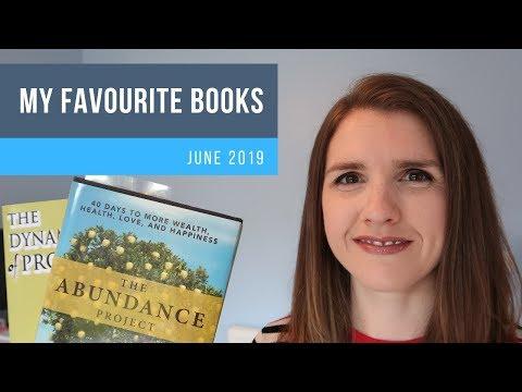 My June 2019 Book Recommendations Catherine Ponder, Laura Whateley, Tony Robbins, Derek Randall