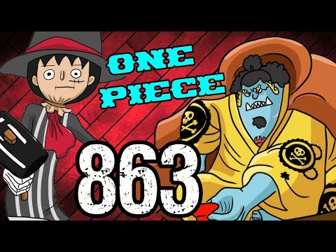 "One Piece Chapter 863 Review ""Jinbei Defects"""