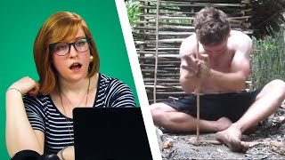 Irish People Watch Primitive Technology