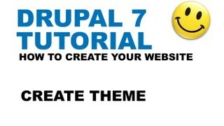 Drupal 7 Tutorial - Create Theme - How to create your website - YTJunkie.com - Part 3