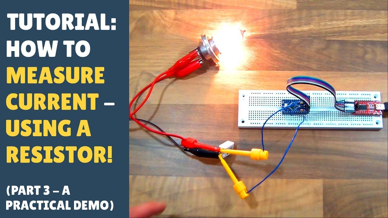 Tutorial How To Measure Current Into Arduino Microcontroller Digital Dc Watt Meter Circuit Amp Project Using Pic A Diy Shunt Resistor Part 3