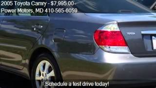 2005 Toyota Camry for sale in Halethorpe, MD 21227 at the Po