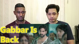 Gabbar is Back   Scene Reaction & Review   Akshay Kumar   By Stageflix