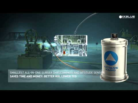 iXBlue high-performance gyrocompass and inertial navigation systems - OCTANS nano