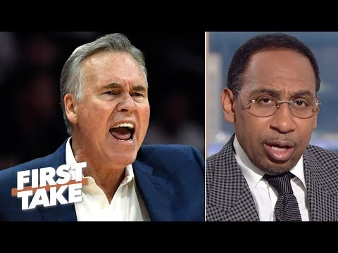 Mike D'Antoni can't coach the Rockets to a championship - Stephen A. | First Take