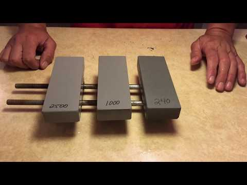 Knife Sharpening - Gritomatic Silicon Carbide Benchstones