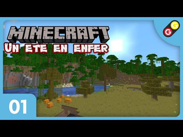 Minecraft - Un été en enfer #01 On découvre la map ! [FR]