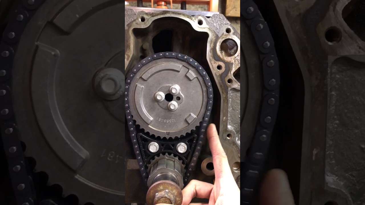LS2 Timing chain slop IS THIS OK?