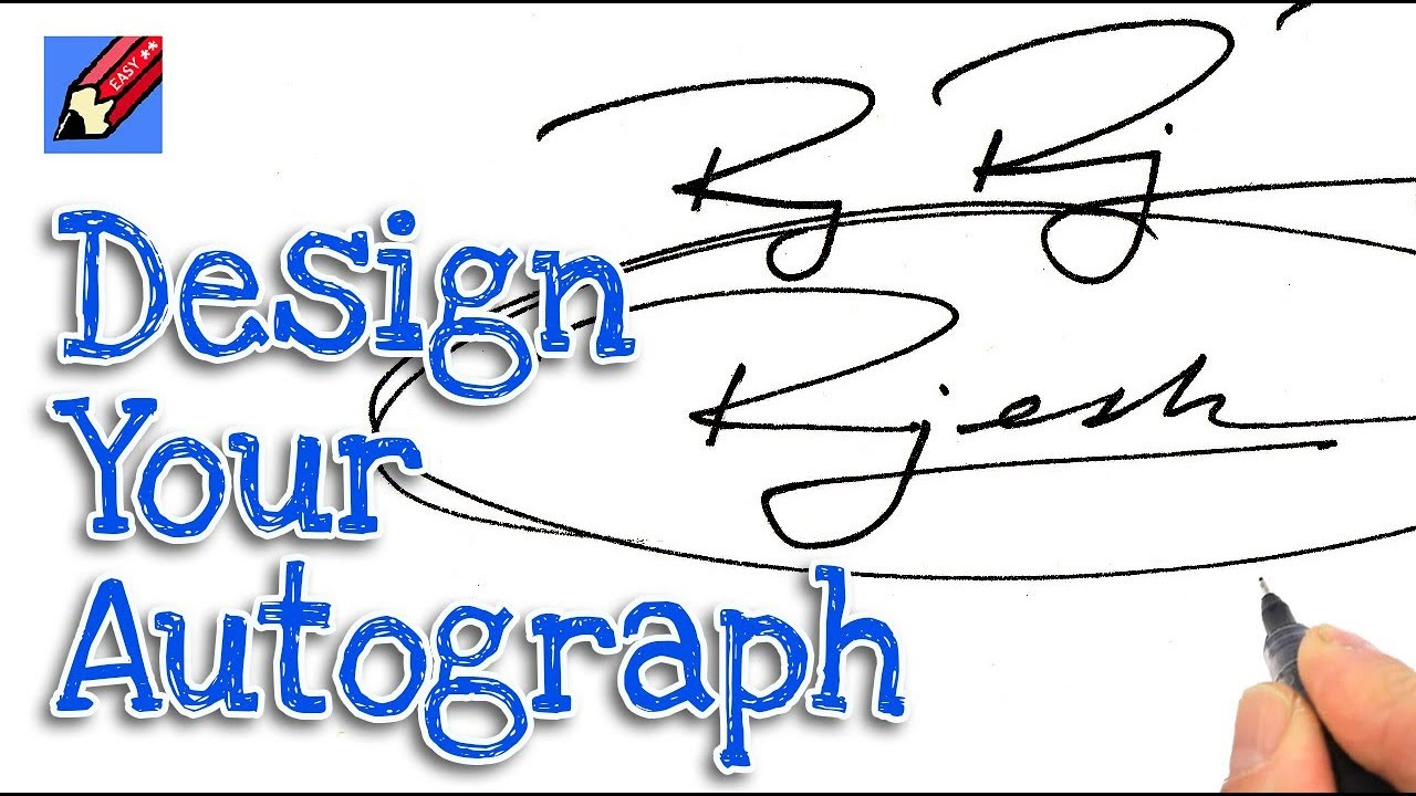 How to Design your Own Awesome Autograph Signature Real Easy