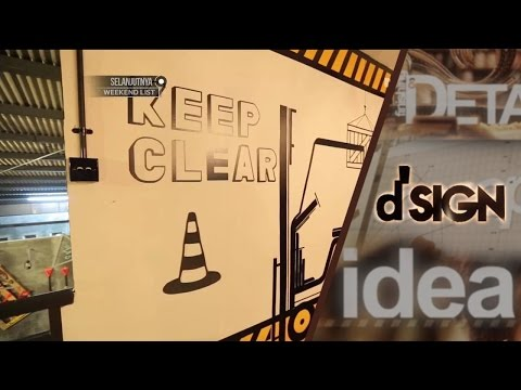 DSIGN - Interior Kedai Bright by White & Ludwick Cafe