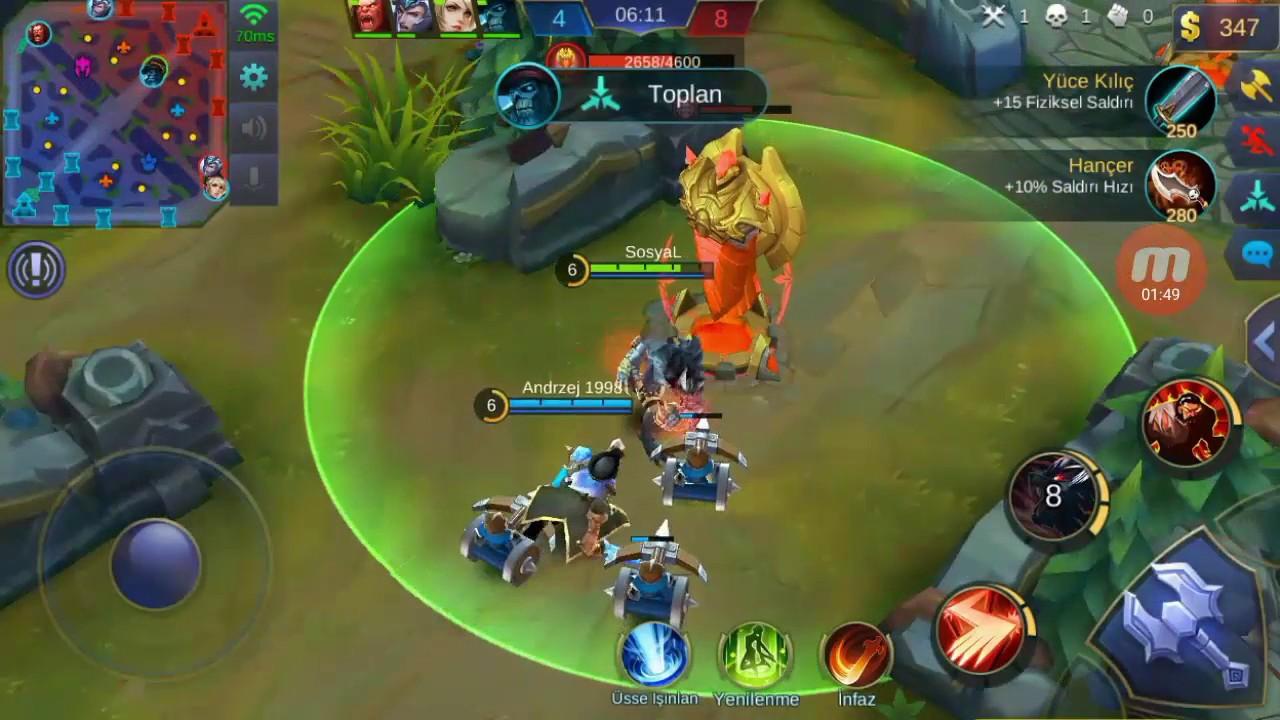 Mobile Legends New Hero ROGER Bu Oyun Böyle Oynanır