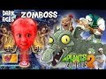 Lets Play PVZ 2: Chase vs. Zomboss (DARK AGES FINAL BATTLE) + Pinata Party w/ Dad