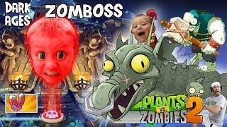 FGTEEV Chase vs. PVZ 2 Zomboss (DARK AGES FINAL BATTLE) + Lets Play Pinata Party w/ Dad thumbnail