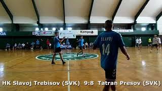 Handball. U17 boys. Sarius cup 2017. Slavoj Trebisov (SVK) - Tatran Presov (SVK) - 10:13 (2nd half)