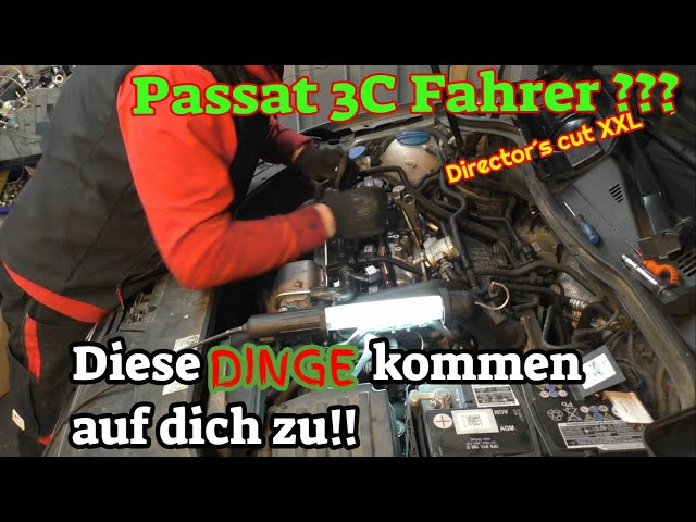 Passat 3C - fast alle Mängel - Diagnose + beheben - XXL Director´s cut