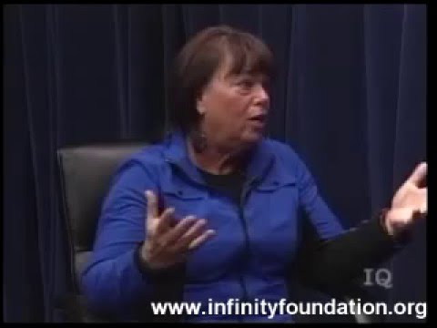 Sharan Tash on Inner Quest TV produced by Infinity Foundation Highland Park, IL